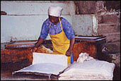Papermaking in Malawi, Africa.  Photos by Peace Corsp Volunteer Susan Ross.